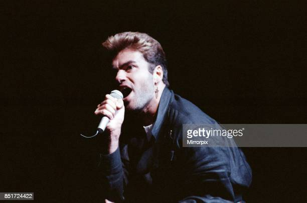 George Michael in concert Faith World Tour Earls Court London 10th June 1988