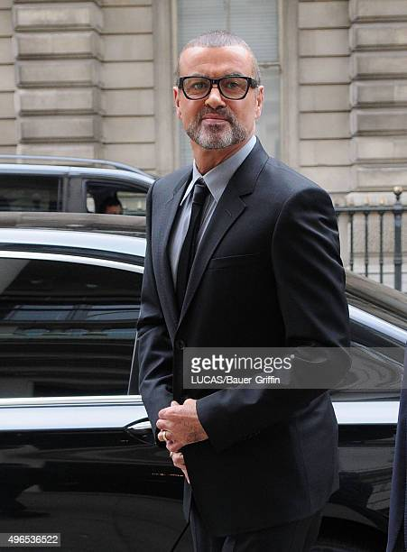George Michael is seen arriving at The Royal Opera HouseJob 110511L3 May 11 2011 on May 11 2011 in London United Kingdom