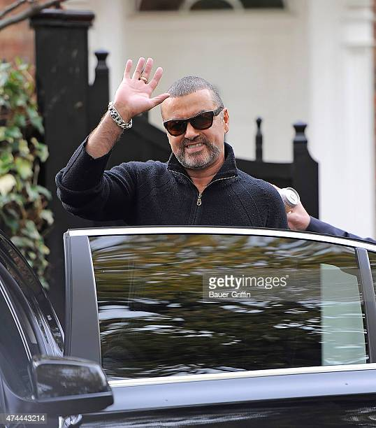 George Michael is seen on October 17 2012 in London United Kingdom