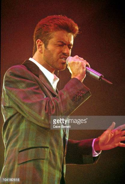 George Michael World Aids Day Concert ' Symphony Of Hope ' At Wembley Arena London