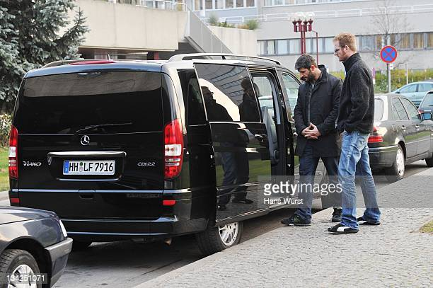 George Michaels boyfriend Fadi Fawaz leaves the AKH hospital where Singer George Michael was reportedly admitted last week with pneumonia on November...