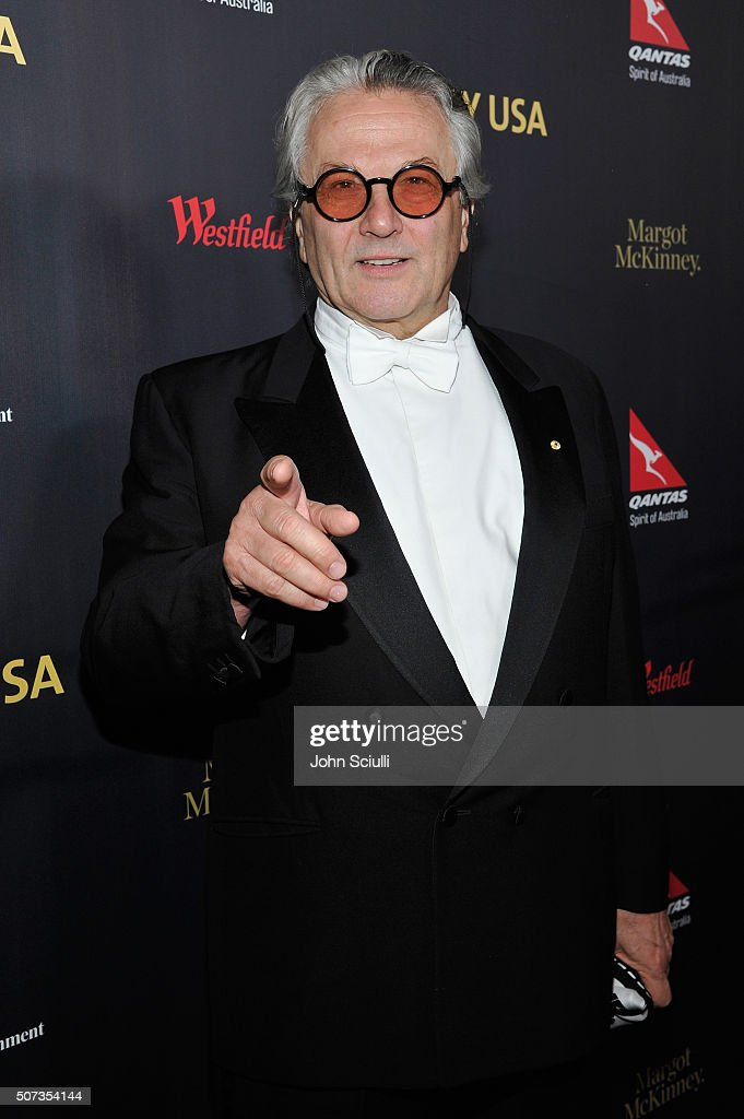 George Miller attends the G'Day USA 2016 Black Tie Gala at