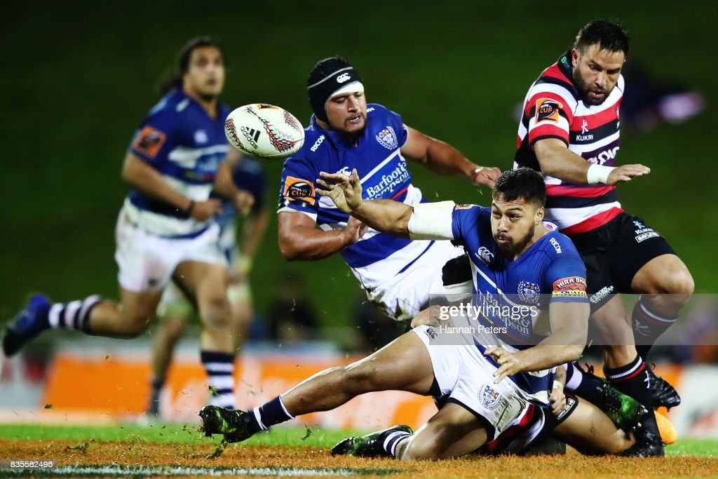 Mitre 10 Cup Rd 1 - Counties Manukau v Auckland