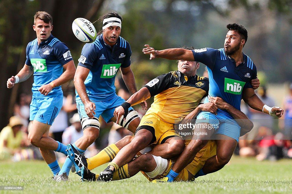 Super Rugby Pre-Season - Blues v Hurricanes