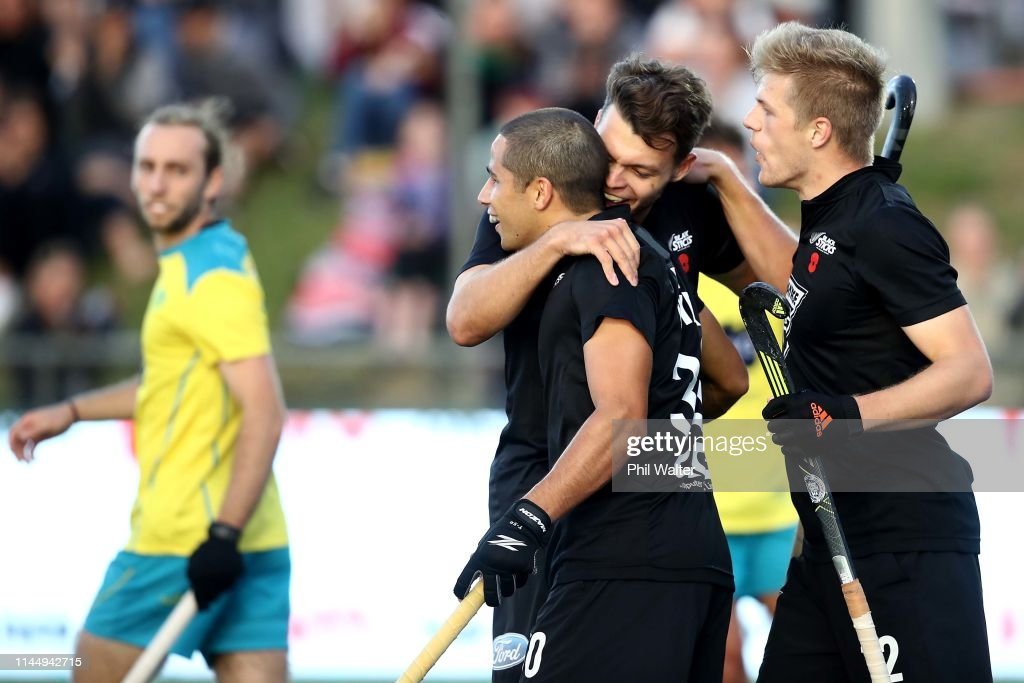 NZL: New Zealand v Australia - Men's FIH Field Hockey Pro League