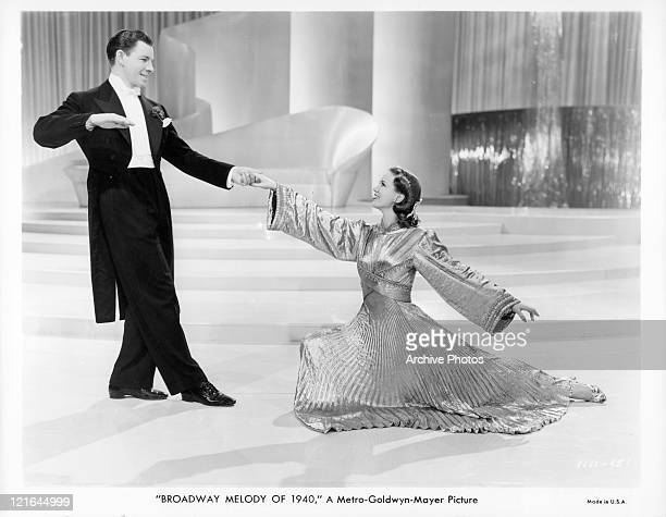 George Murphy and Eleanor Powell dance in a scene from the film 'Broadway Melody Of 1940' 1940