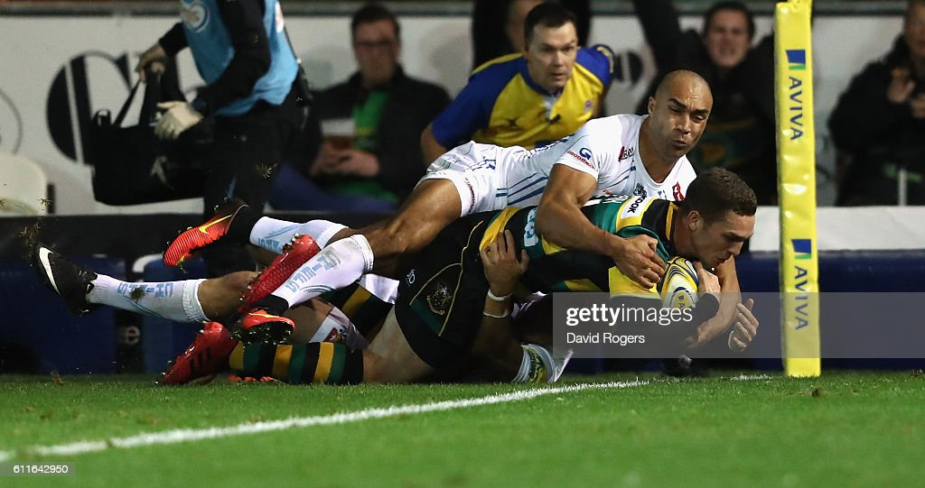 Northampton Saints v Exeter Chiefs - Aviva Premiership : News Photo