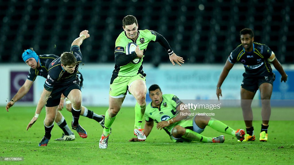 Ospreys v Northampton Saints - European Rugby Champions Cup : News Photo