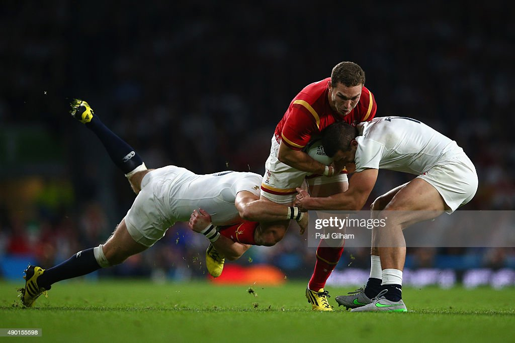 England v Wales - Group A: Rugby World Cup 2015 : News Photo