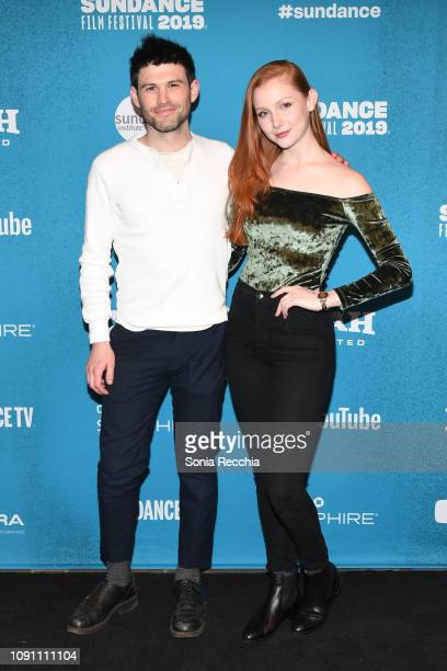 George Olesky and Chandler Lovelle attend the Indie Episodic Program 2 during the 2019 Sundance Film Festival at Prospector Square Theatre on January...