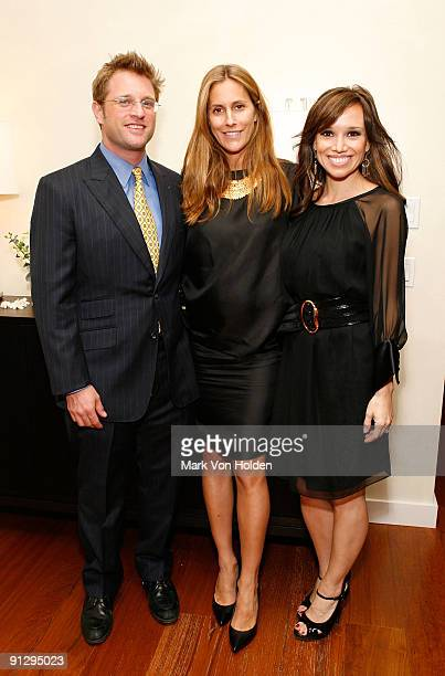 George Oliphant Gotham Magazine Editor in chief Cristina Cuomo and Sara Gore attend Gotham magazine's Broker Reception at Silver Towers on September...