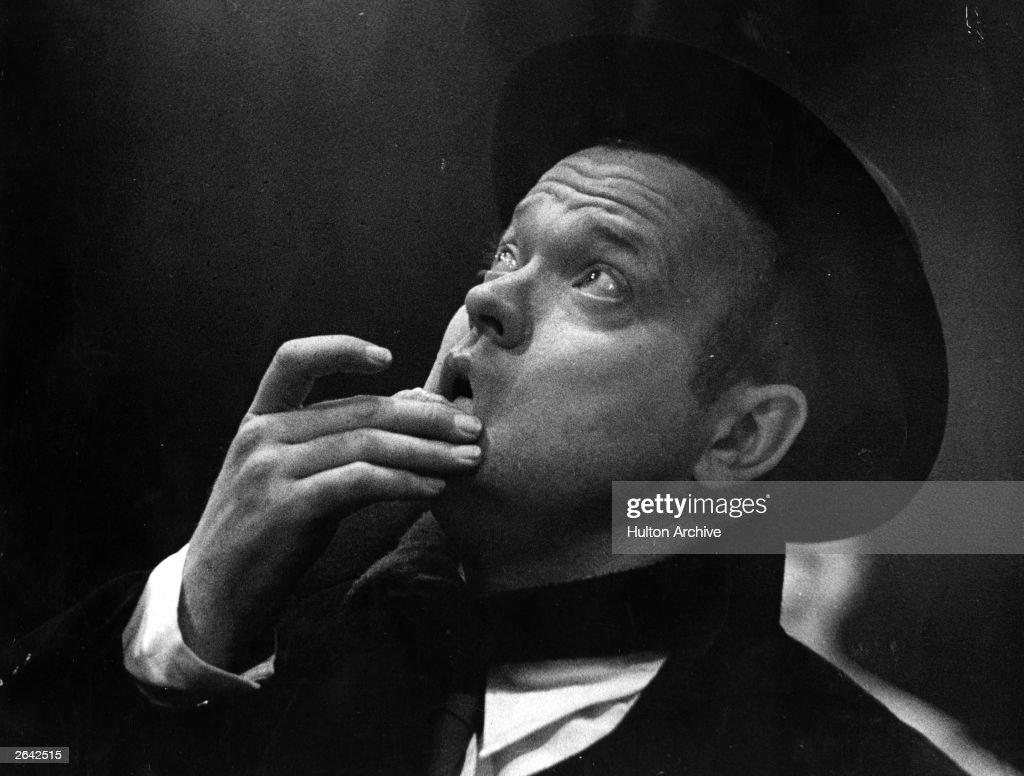 Orson Welles : News Photo