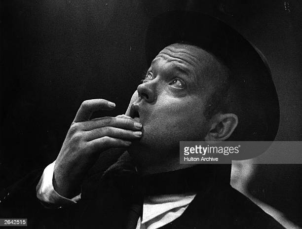 George Orson Welles the American actor writer producer and director
