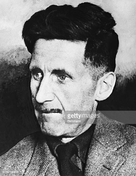 George Orwell, famous English author.