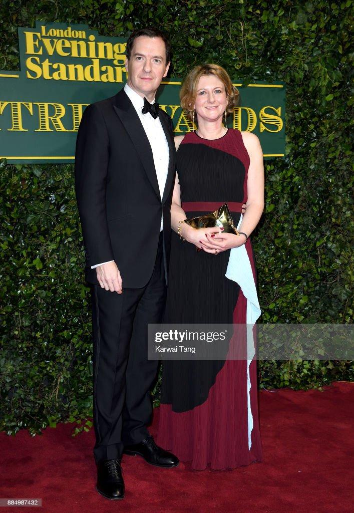 London Evening Standard Theatre Awards - Red Carpet Arrivals : News Photo