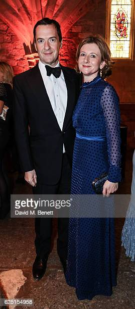 George Osborne and Frances Osborne attend the Save The Children Winter Gala at The Guildhall on November 22 2016 in London England