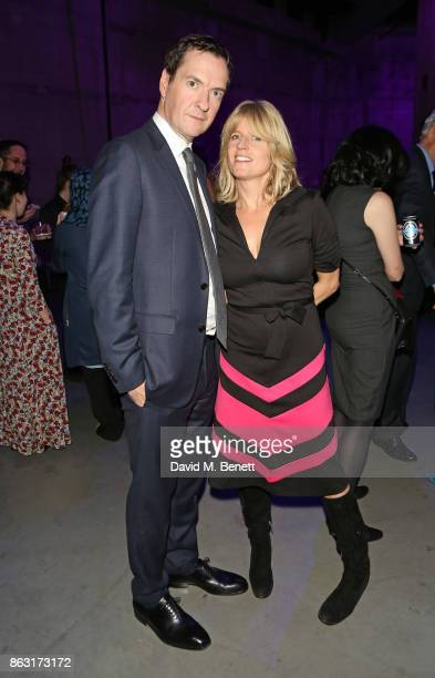 George Osborne and Rachel Johnson attend The London Evening Standard's Progress 1000 London's Most Influential People in partnership with Citi on...