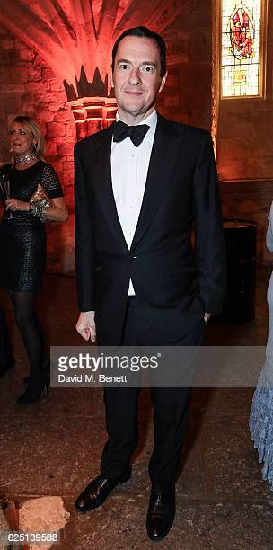 George Osborne attends the Save The Children Winter Gala at The Guildhall on November 22 2016 in London England