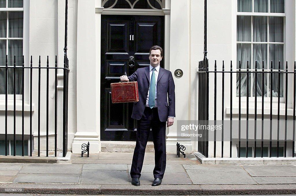 First U.K. Budget For George Osborne : News Photo