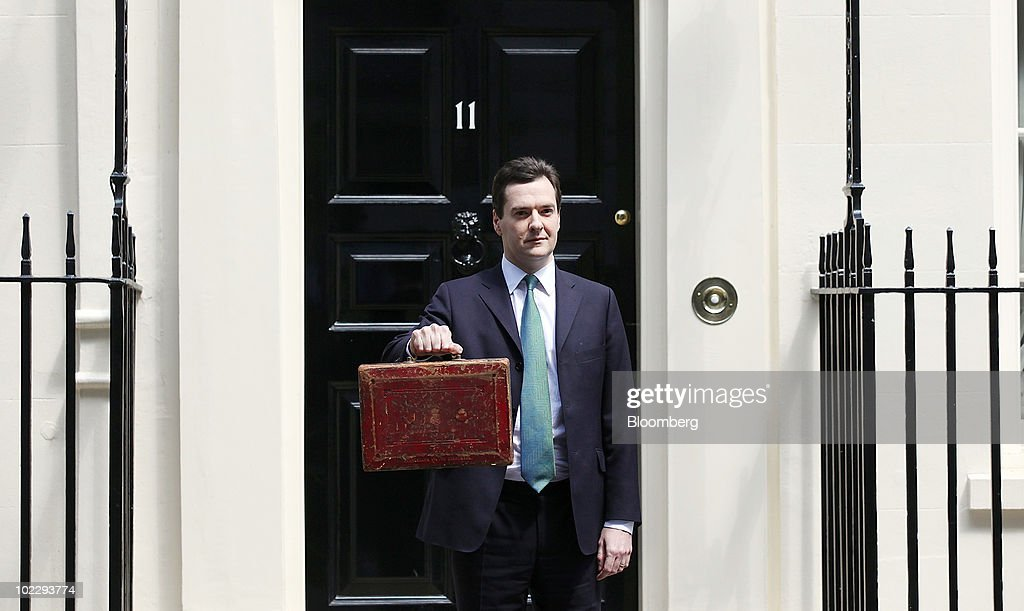 First U.K. Budget For George Osborne : News Photo