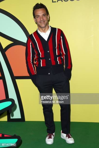 George Papadopoulos attends the celebration of the reopening of the LACOSTE Rodeo Drive Boutique at Sheats Goldstein Residence on November 7 2017 in...