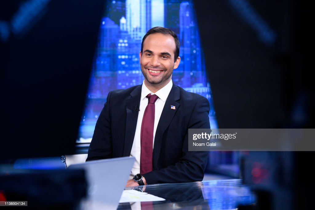 """George Papadopoulos Visits """"The Story With Martha MacCallum"""" : News Photo"""