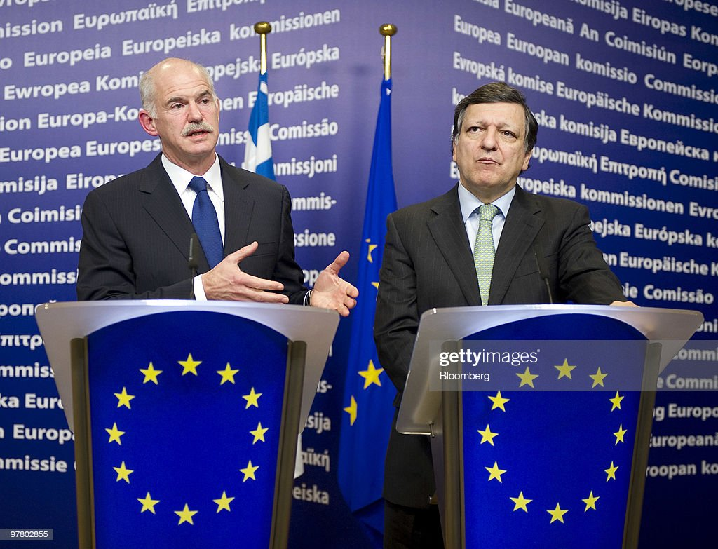 Greek Prime Minister Meets Barroso
