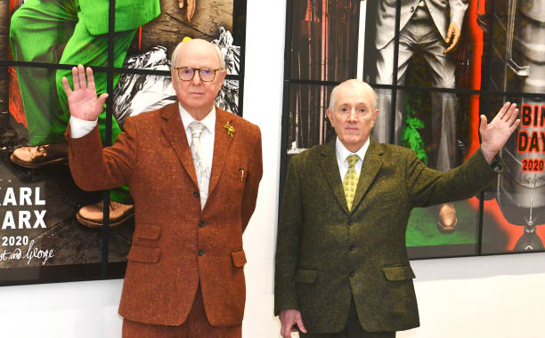 """GBR: White Cube Mason's Yard Reopens With A Press View Of """"Gilbert & George: New Normal Pictures"""""""