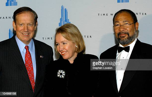 George Pataki Libby Pataki and Dick Parsons during Grand Opening Celebration of Time Warner Center at Time Warner Center in New York City New York...