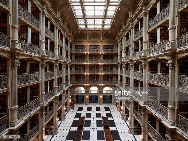 George Peabody Library, formerly the Library of the Peabody Institute of the City of Baltimore, is part of the Johns Hopkins Sheridan Libraries....