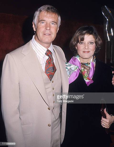 George Peppard and wife Sherry during George Peppard Sighting January 10 1978 at Le Club in Los Angeles United States