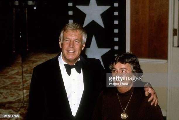 George Peppard attends the American Film Institute's Salute to Fred Astaire circa 1981 in Los Angeles California