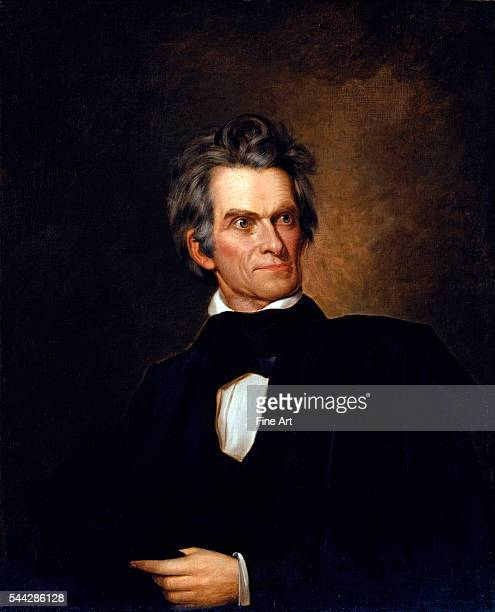 George Peter Alexander Healy , Portrait of John C. Calhoun, United Stated Secretary of State , c. 1845, oil on canvas, 91.9 x 74.1 cm , National...