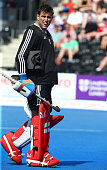 george pinner england during mens hockey