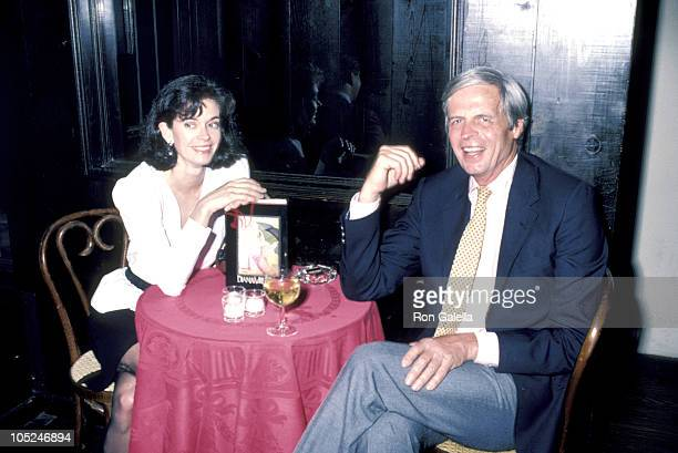 George Plimpton & Diane Vreeland during Diane Vreeland Book Interview in New York City, NY, United States.