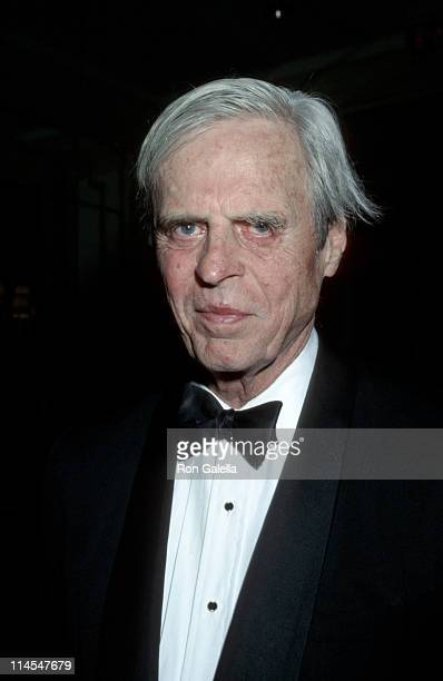 George Plimpton during 8th Annual Rainforest Alliance Gala Dinner at Pierre Hotel in New York City, NY, United States.