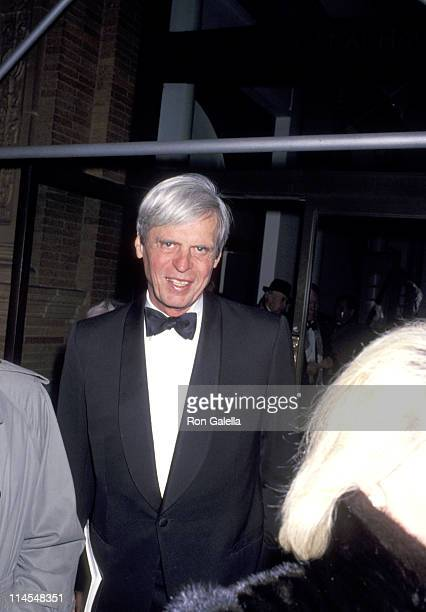 George Plimpton during Actor's Studio 46th Anniversary at Weill Recital Hall at Carnegie Hall in New York City, NY, United States.