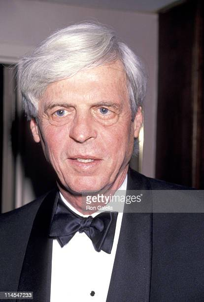 George Plimpton during Annual Outer Critics Circle Awards at Sardi's Restaurant in New York City, NY, United States.
