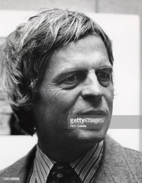George Plimpton during Fay Wray Art Exhilbition - May 19, 1976 at International Center of Photography in New York City, New York, United States.