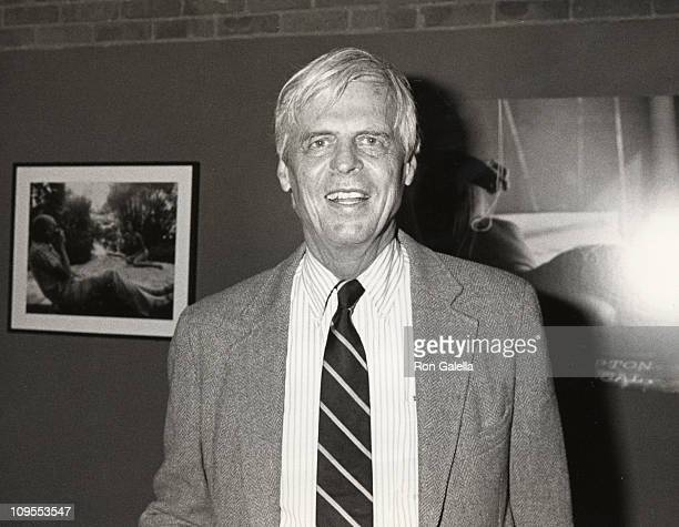 George Plimpton during George Plimpton Photography Exhibition at The Tunnel in New York City, NY, United States.