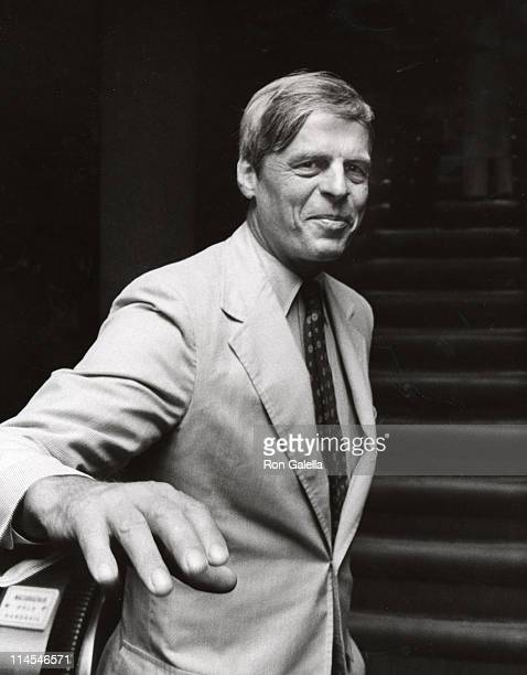 "George Plimpton during ""The Ritz"" New York City Premiere at Four Seasons Restaurant in New York City, New York, United States."