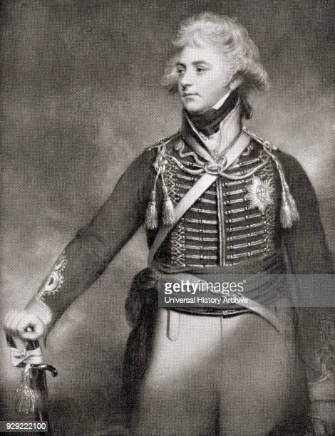 George Prince of Wales later George IV 1762 –1830 aged 36 From Buckingham Palace Its Furniture Decoration and History published 1931