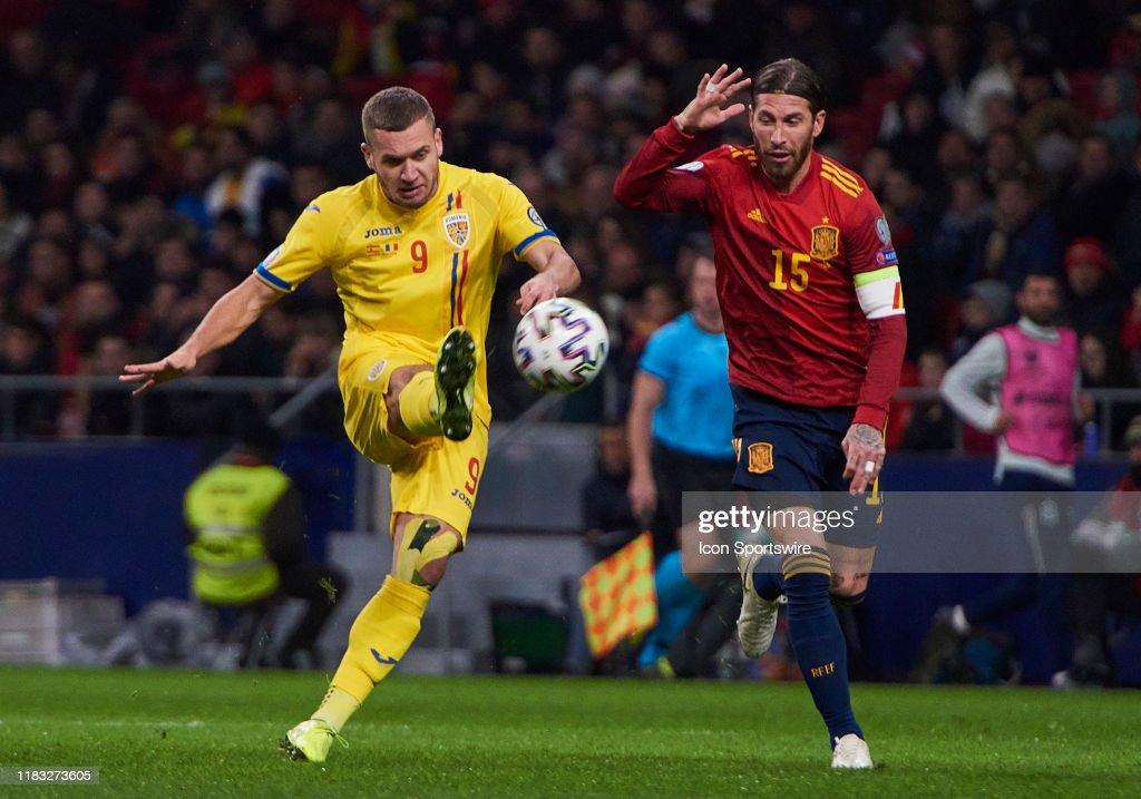 Spain v Romania - UEFA Euro 2020 Qualifier : Fotografía de noticias