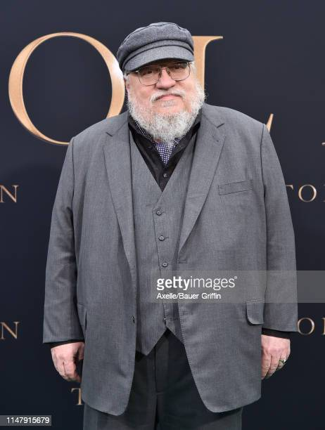 """George R. R. Martin attends LA Special Screening of Fox Searchlight Pictures' """"Tolkien"""" at Regency Village Theatre on May 08, 2019 in Westwood,..."""