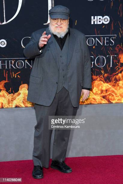 """George R. R. Martin attends the """"Game Of Thrones"""" Season 8 Premiere on April 03, 2019 in New York City."""