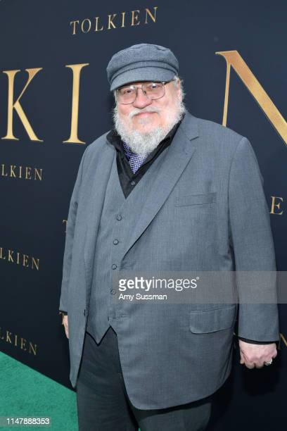 """George R. R. Martin attends the LA Special Screening of Fox Searchlight Pictures' """"Tolkien"""" at Regency Village Theatre on May 08, 2019 in Westwood,..."""