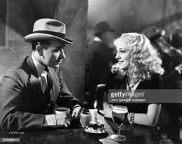 George Raft as Raoul De Baere and Sally Rand as Annette in the 1934 film Bolero