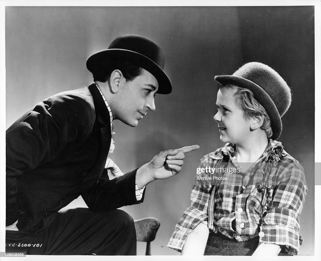 George Raft And Jackie Cooper In 'The Bowery' : News Photo