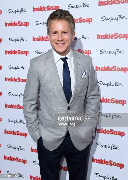 George Rainsford attends the Inside Soap Awards at The Hippodrome on November 6 2017 in London England