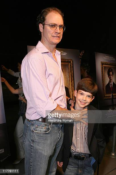 George Ratliff director and Jacob Kogan during 2007 Los Angeles Film Festival Joshua Screening in Los Angeles California United States